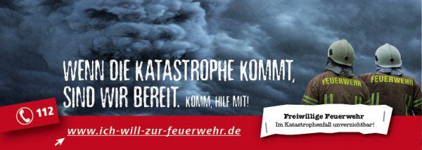 Wenn die Katastrophe kommt, sind wir bereit. Komm, hilf mit!